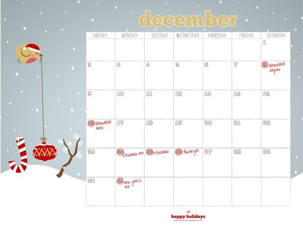 dec'12_calendar